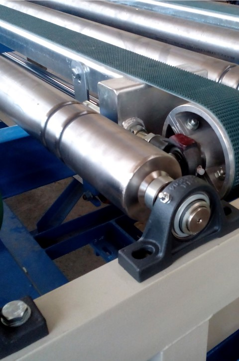 Stainless-steel roller